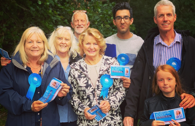 Campaign Day in Wilmslow East